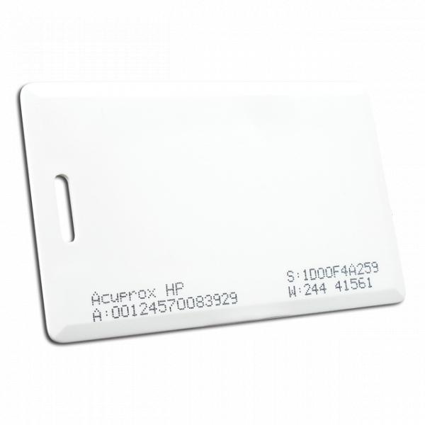 Cartão de Proximidade Acura AcuProx Card HP