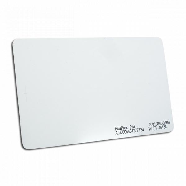 Cartão de Proximidade Acura AcuProx ISO Premium
