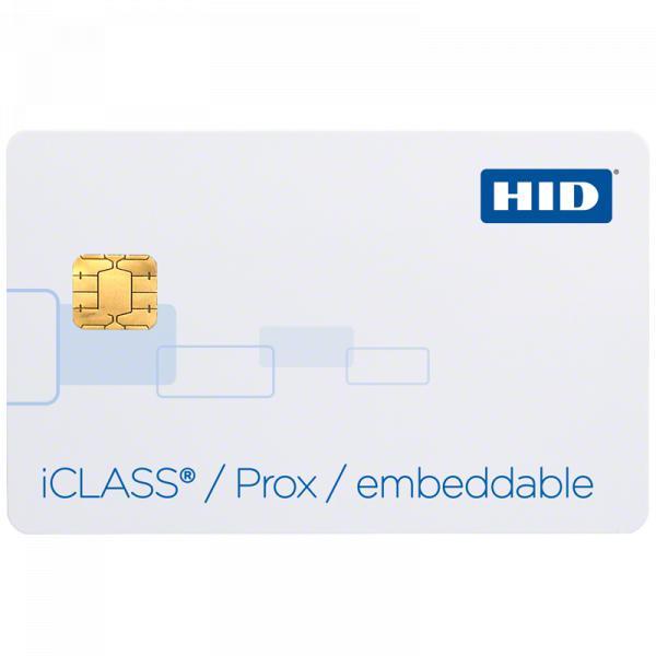 Cartão de Proximidade HID iCLASS® 213x Integrável & iCLASS Prox Integrado
