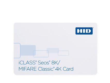 Cartão de Proximidade HID® Seos®/MIFARE Classic® 5806