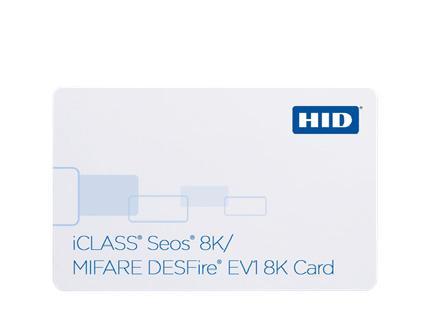 Cartão de Proximidade HID® Seos®/MIFARE® DESFire® EV1 5906