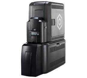 CR805 Impressora de cartão por retransferência com laminadora