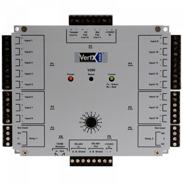 Interface de Monitoramento de Entrada HID Vertx V200