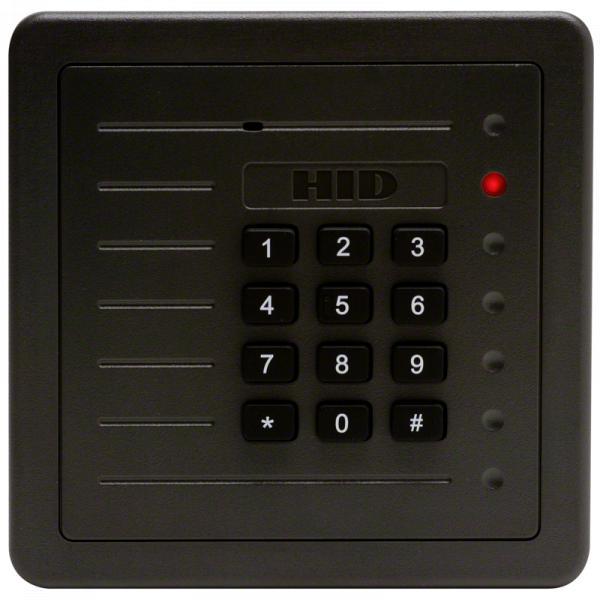 Leitor de Proximidade HID ProxPro® com teclado numérico 5355