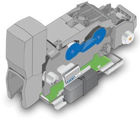 SP55k Impressora de cartões para quiosques