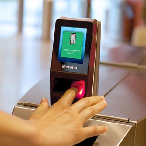 Terminal de Biometria para Controle de Acesso Idemia MorphoAccess SIGMA Lite Series
