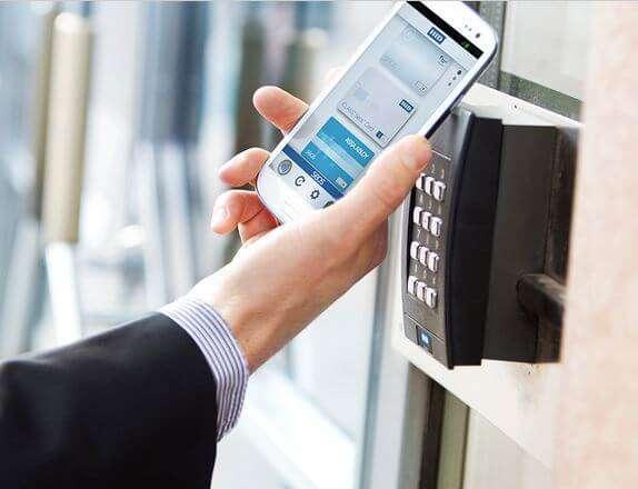 Controle de acesso sem contato