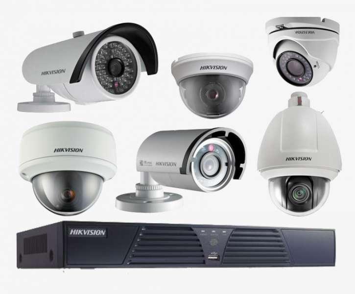 Locação de sistema de câmeras de segurança