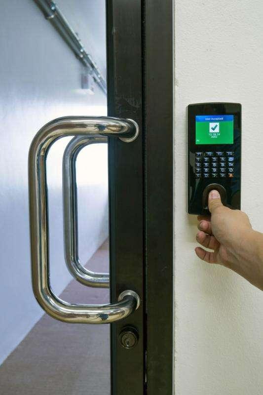 Sistema de controle de acesso hid