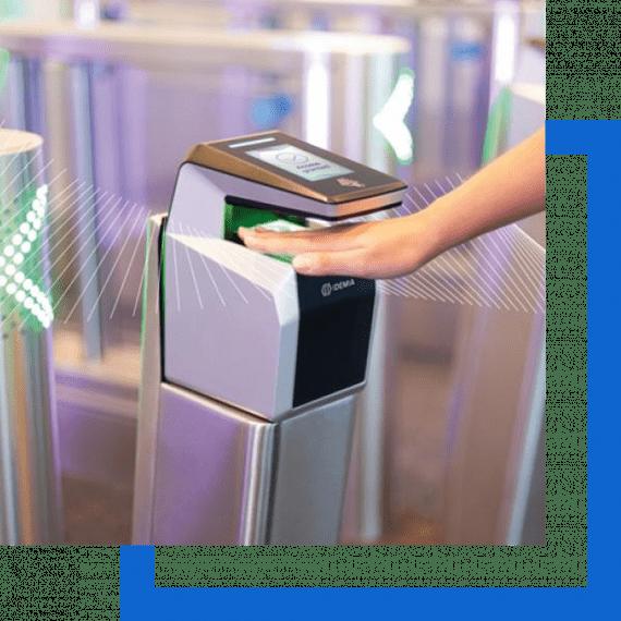 Controle de Acesso por Biometria - 3D