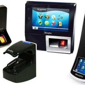 Leitor de biometria digital